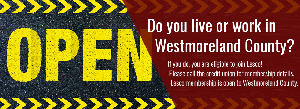 Do you live or work in Westmoreland county? Join today